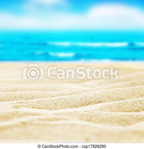 beach sand - csp17626280