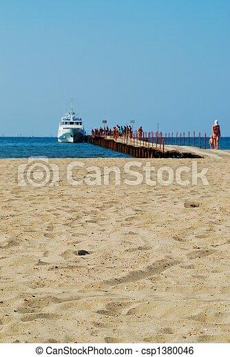 Beach sand - csp1380046