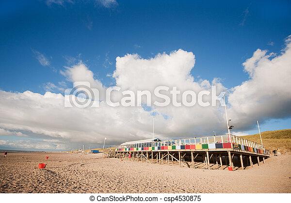 Beach terrace in the evening - csp4530875