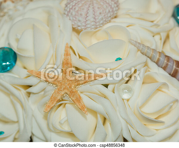 Beach Themed Ocean Wedding Reception Decorations