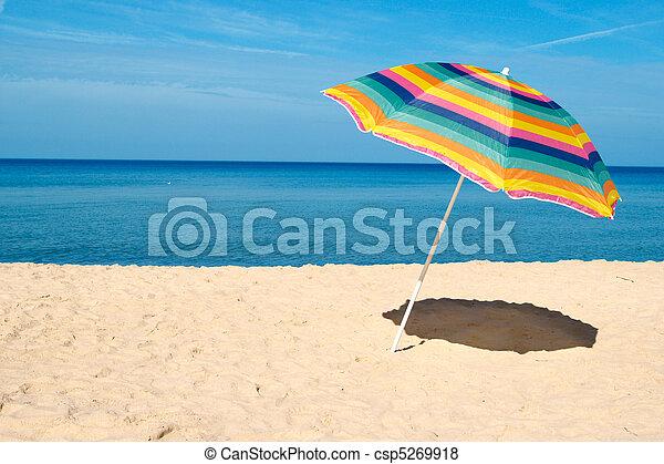 Beach Umbrella - csp5269918