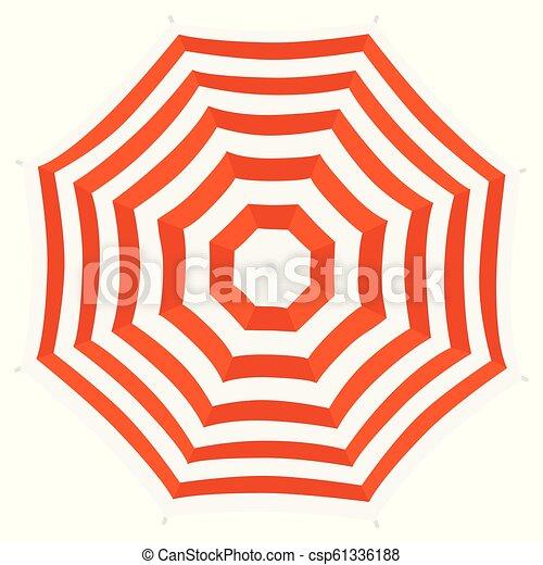 af4d49203e Beach umbrella top view