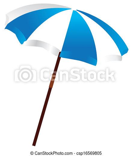 beach umbrella - csp16569805