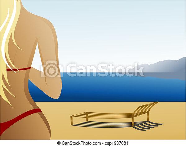 Beach - csp1937081