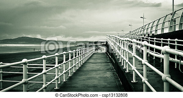 Beach walkway - csp13132808