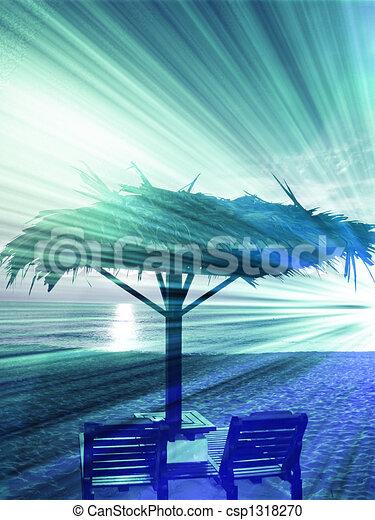 Beachside seat - csp1318270