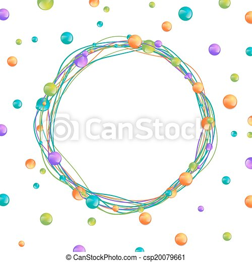 Beads Frame - csp20079661