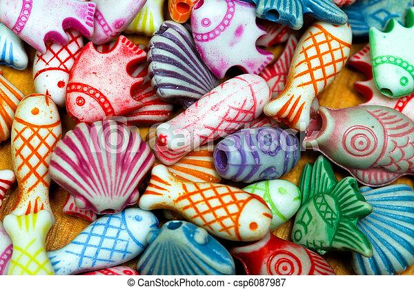 Beads sea life - csp6087987