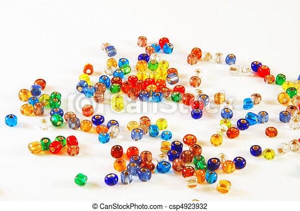 Beads - csp4923932