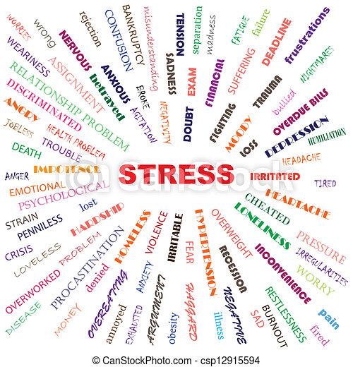 Stress - csp12915594