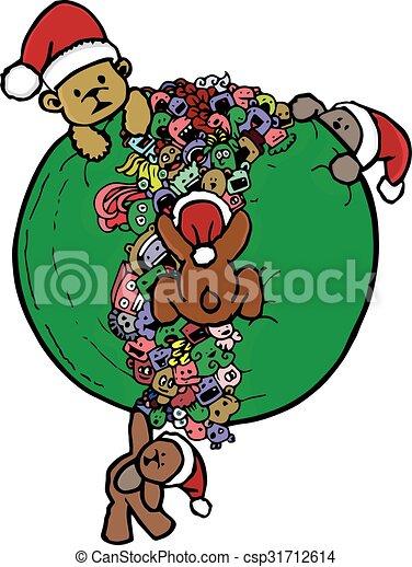 bear doodle cartoon - csp31712614