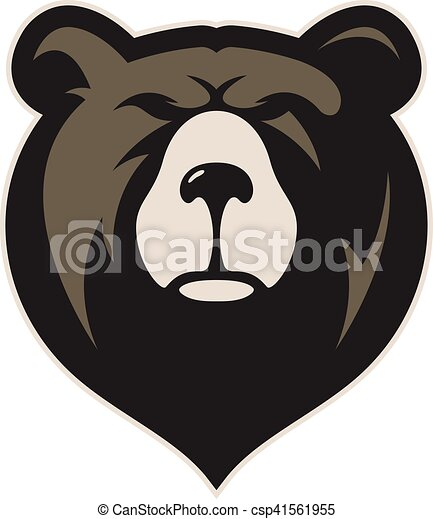Bear head mascot - csp41561955
