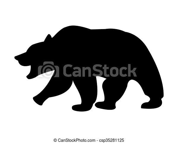 bear icon design - csp35281125