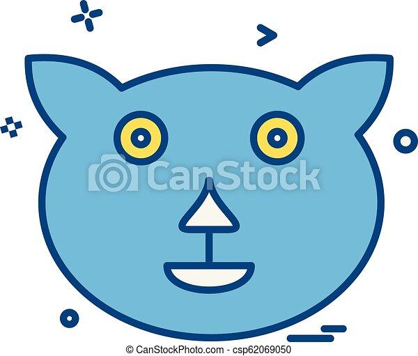 Bear icon design vector - csp62069050