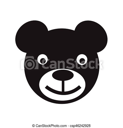 bear icon Vector Illustration - csp46242928