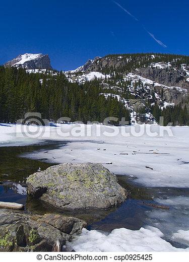 Bear Lake Thaw - csp0925425