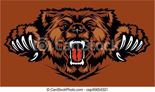bear mascot - csp45654321