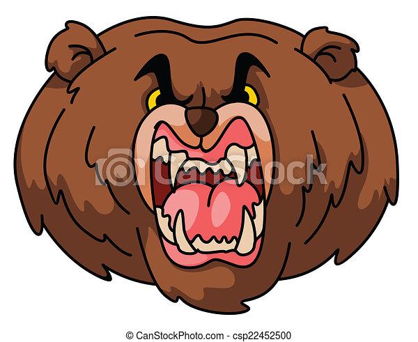 Bear Mascot - csp22452500