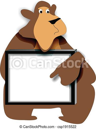 Bear Memo Board - csp1915522