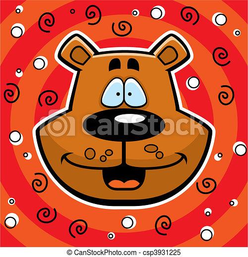 Bear Smiling - csp3931225