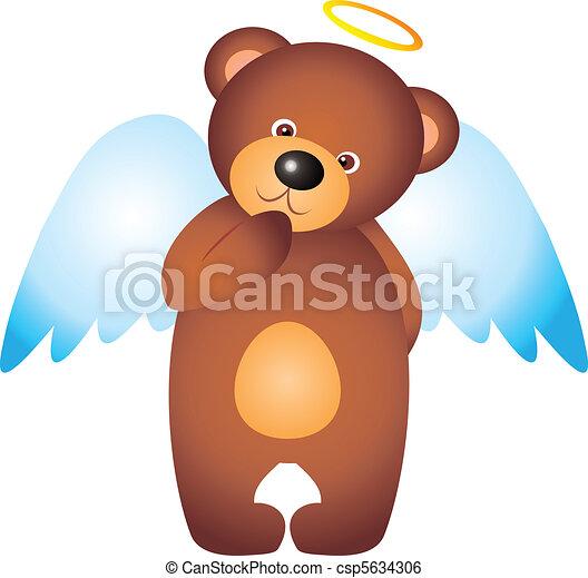 Bear vector  - csp5634306