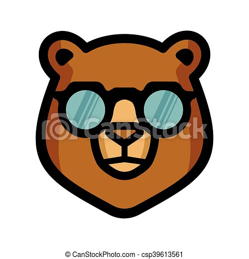 Bear vector icon - csp39613561