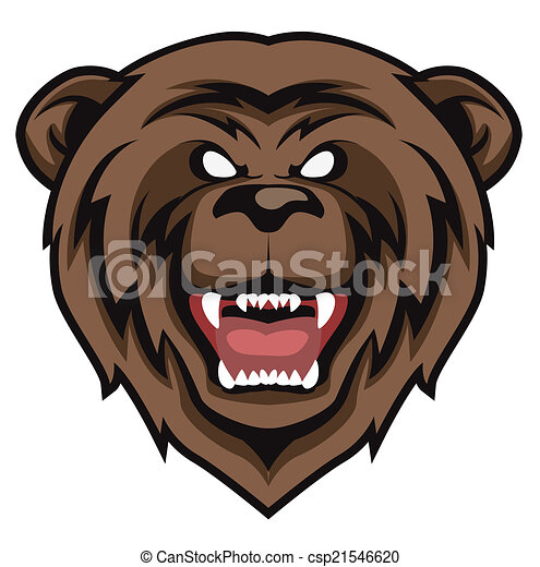 bear vector - csp21546620