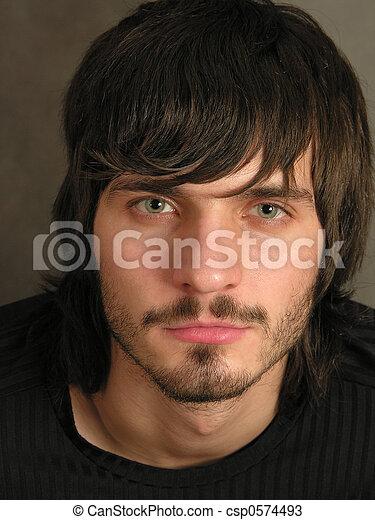 beardman face 2 - csp0574493