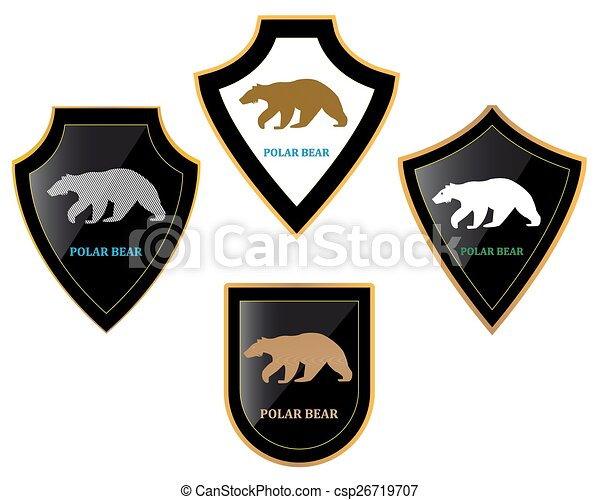 Bears and shields - csp26719707