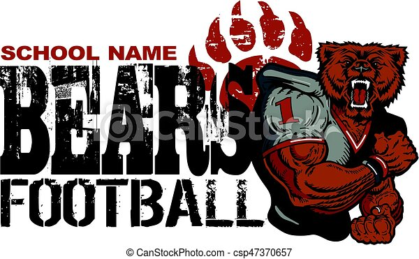 bears football - csp47370657