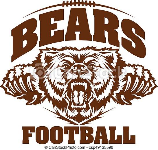 bears football - csp49135598