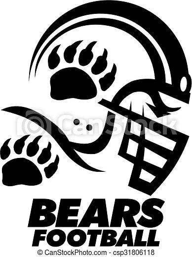 bears football - csp31806118