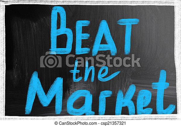 beat the market - csp21357321