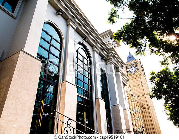 Beau, bâtiment, style victorien, architecture photographie de stock ...