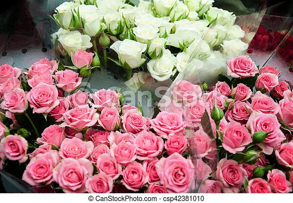 Beau Bouquet Roses Roses