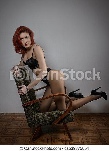 Lingerie Cheveux Rouge Cheveux Femme Rouge Femme Cheveux Lingerie Femme y6b7gf