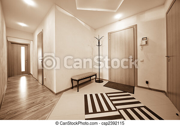 Beau couloir beau appartement porte moderne couloir for Couloir moderne