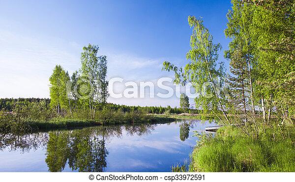 beau, lac - csp33972591