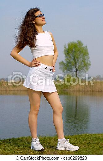beau minijupe jeune fille plage blanc beau t. Black Bedroom Furniture Sets. Home Design Ideas