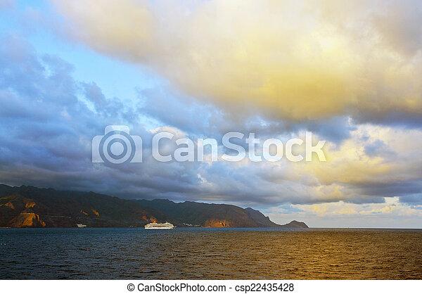 beau, nuages, orage - csp22435428