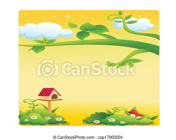 beau, paysage - csp17900204