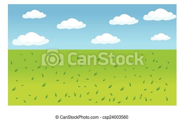 beau, paysage - csp24003560
