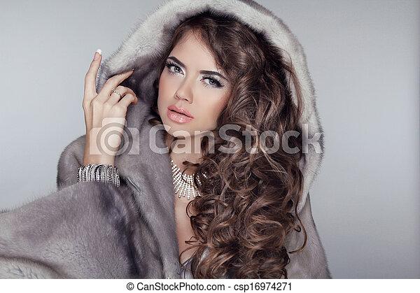 Manteau hiver femme de luxe
