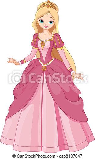 beau, princesse - csp8137647