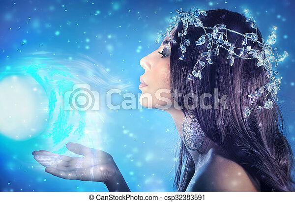 beau reine neige csp32383591 - Reine Neige