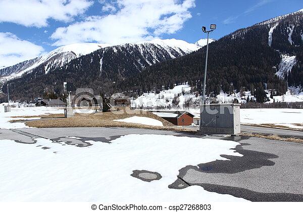 beau, suisse, emplacement - csp27268803