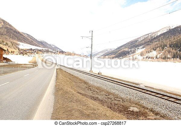 beau, suisse, emplacement - csp27268817
