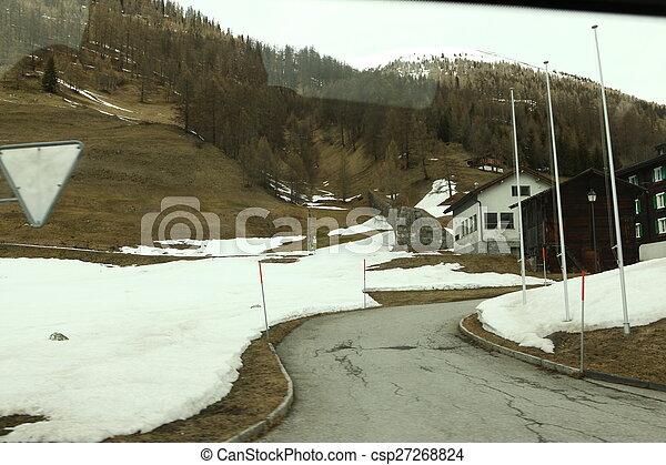 beau, suisse, emplacement - csp27268824