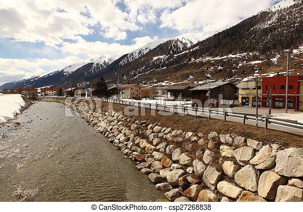 beau, suisse, emplacement - csp27268838