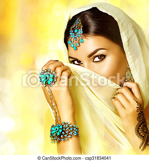 beau tatouage fille femme arabe portrait arabe. Black Bedroom Furniture Sets. Home Design Ideas